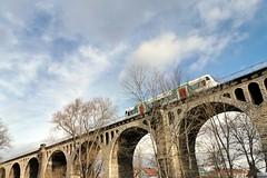 Viaduct (gatierf) Tags: viaduct germanrailway train erfurterindustriebahn