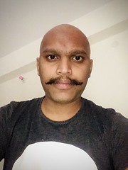 Fresh shaven bald head (viveksubarno007) Tags: bald headshave shaved baldhead freshshaven