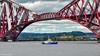 Forth Belle Ferry & The Forth Bridge