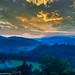 L'heure bleue à Boucieu le Roi, Ardèche.