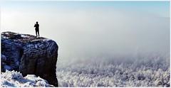 Fels & Eis (Christoph Bieberstein) Tags: hoher schneeberg děčínský sněžník elbsandsteingebirge labské pískovce bohemian switzerland böhmische schweiz česko ceská republik čechy české švýcarsko winter eis ice raureif januar 2020 january zima sandstein sandstone
