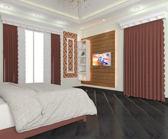 Bed 4 FF 02 (iqbalsheikh89) Tags: 3drendering 3d iqbalsheikh twitter rendering realestate residentail architecture interiordesign interior house instagram design home model photorealistic bed bedroom bedwall classical modern spanish