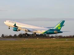 Aer Lingus                                        Airbus A330                                 EI-ELA (Flame1958) Tags: 1486 aerlingus aerlingusa330 aerlingusnewlivery aerlinguslivery aerlinusnewcolours aerlingusnewcolors airbusa330 airbus a330 330 vacation holiday ireland dub eidw dublinairport 040220 0220 2020 eiela