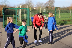 IMG_8147 (fleetwoodtownfc) Tags: community danny andrew josh morris stanah primary school move learn