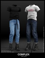 [COMPLEX] DEAN OUTFIT (Complex Official) Tags: sl secondlife tre denim jeans belleza legacy signature tmd complex