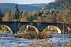 The Telford Bridge and the river Tay