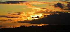 Sunset from The Cobb. (Joan's Pics 2012) Tags: sunset thecobb goldenglow anglesey