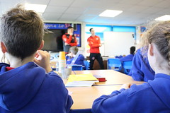 IMG_8125 (fleetwoodtownfc) Tags: community danny andrew josh morris stanah primary school move learn