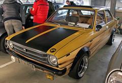 Corolla (Schwanzus_Longus) Tags: bremen german germany japan japanese old classic vintage car vehicle sedan saloon toyota corolla