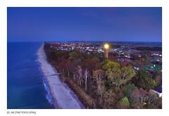 Gąski lighthouse (MK|PHOTOGRAPHY) Tags: leuchtturm lighthouse strand beach ostsee balticsea gąski funkenhagen westpommern polen poland kameradrohne cameradrone djiphantom3standard matthias körner mattkoerner1 mk|photography