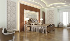 Bed 3 FF 01 (iqbalsheikh89) Tags: 3drendering 3d iqbalsheikh twitter rendering realestate residentail architecture interiordesign interior house instagram design home model photorealistic bed bedroom bedwall classical modern spanish