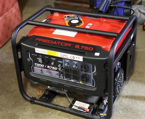 Predator 8,750 Generator ($252.00)
