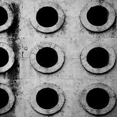 eurysaces (caeciliametella) Tags: photography 2016 lorrainekerr rome roma republic baker tomb tomba fornaio repubblica eurysaces caeciliametella blackandwhite bw abstract square 11 bn late travertine astratto bianconero quadrato età travertino mausoleum portamaggiore hawksmoor christchurch spitalfields tombofeurysaces lazio notlatium