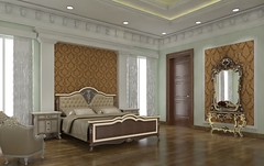 Bed 2 FF 01 (iqbalsheikh89) Tags: 3drendering 3d iqbalsheikh twitter rendering realestate residentail architecture interiordesign interior house instagram design home model photorealistic bed bedroom bedwall classical modern spanish