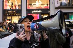 No Fur (Silver Machine) Tags: london mayfair streetphotography street candid streetprotest protest march antifur fashionantifur designerlabels shops fujifilm fujifilmxt10 fujinonxf18mmf2r