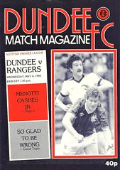 Dundee v Rangers 19830504 (tcbuzz) Tags: dundee football club dens park scotland scottish premier league programme