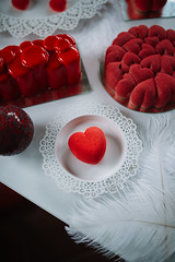 Heart cookie valentine decoration (shixart1985) Tags: valentine saucer red pottery plate nobody meal lover icing fork dish dessert cupcake creme confectionery closeup bowl cream traditional delicious coffee christmas celebration candy berry love food chocolate romance cake desktop sugar cup heart