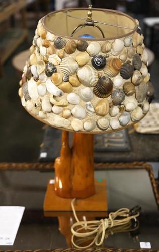 Drift Wood Seashell Lamp ($89.60)