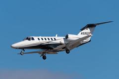 N585EP Citation 525A0346 KPTK (CanAmJetz) Tags: n585ep cessna citation 525a0346 kptk ptk bizjet aircraft airplane landing nikon