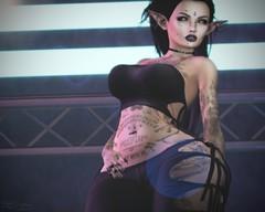 Feelin' Sexy (d3vilzangel) Tags: secondlife sl second life elf elven bento mesh lelutka belleza freya goth