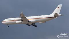 TLV - German Air Force Airbus A340-300 16+02 (Eyal Zarrad) Tags: 1602 a343 germanairforce llbg telaviv
