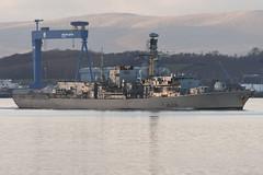 HMS Northumberland - South Queensferry - 04-02-20 (MarkP51) Tags: hmsnorthumberland southqueensferry firthofforth scotland ship boat vessel water sea nikon d500 nikon200500f56vr sunshine sunny