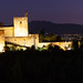 Alhambra With A Pink Sky