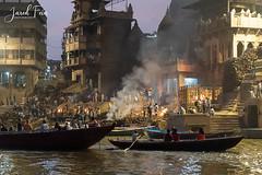 Manikarnika Ghat (SewerDoc (4 million views)) Tags: ganges india river varanasi cremation