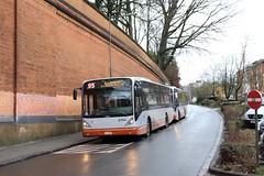9764 T93 barré Bockstael (via Prince Léopold) (brossel 8260) Tags: belgique bruxelles bus stib
