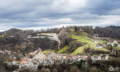 Paysage hivernal sans neige (Philippe Bélaz) Tags: fribourg city cloudy hiver landscape nuageux old paysages vieille ville winter