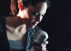 Love Song (RickB500) Tags: portrait girl rickb rickb500 model beauty expression face cute hair music singer