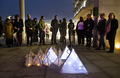 Holocaust Memorial Day - Procession of Light (University of Essex) Tags: