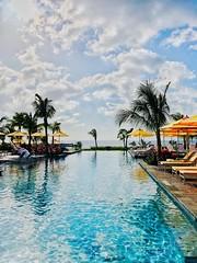 First Time in Nevis. :) (Thomas Hawk) Tags: infinitypool swimmingpool pool hotel fourseasons fourseasonsnevis carribean nevis fav10 fav25 fav50 fav100