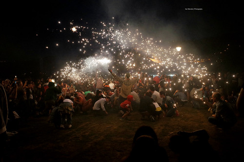 Saint John's Night at Bilbao