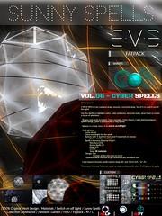 E.V.E CYBER SPELLS (SUNNY SPELLS VOL.06) (eve.studio (Noke Yuitza)) Tags: sunnyspells eve scifi weheartrp new lights lamp futuristic retrofuturistic cyberpunk steampunk