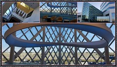 Art-chitecture (MoparMadman63) Tags: baylorscottwhite irvingtx texas hospital collage architecture building design style interior indoors windows glass