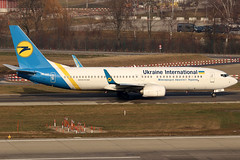 UR-UIC_01 (GH@BHD) Tags: uruic boeing 737 738 b737 b738 737800 ukraineinternational ukraineinternationalairlines zurichairport zrh lszh zurich kloten aircraft aviation airliner