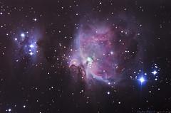 M42/M43 (stephen.prevost) Tags: astrophotography deep sky m42 m43 orion nebula telescope