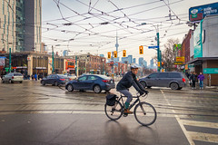 (A Great Capture) Tags: bike bicycle rider toronto downtown cntower cyclist commute agreatcapture agc wwwagreatcapturecom adjm ash2276 ashleylduffus ald mobilejay jamesmitchell on ontario canada canadian photographer northamerica torontoexplore winter l'hiver 2020
