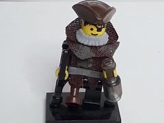 OSKAR THE DRUNK (krisdecatte) Tags: lego minifigurines medieval custom beggar poor