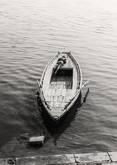 at rest along the Ganga Mata, Varanasi (Dean Forbes (absent from the streets)) Tags: select ganges varanasi boat