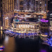 Dubai Marina Mall By Night