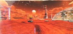 Ahoy Mars (Mya Milena) Tags: martian red landscape sl secondlife mars