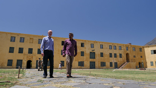 20023/4 Blok bezoekt Zuid Afrika