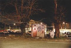 (Oscuri Ingranaggi) Tags: leicacl kodakportra160 roma publictoilet outoforder