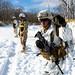 U.S. Marines patrol during exercise Northern Viper on Yausubetsu Training Area, Hokkaido, Japan