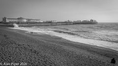 On Brighton Beach (PapaPiper) Tags: winter seascape sea landscape pier brighton brightonbeach brightonpier waves england uk unitedkingdom eastsussex