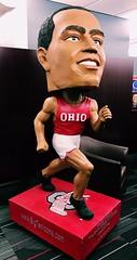 gigantic jesse (brown_theo) Tags: jesse owens bobblehead ohio state university large gigantic osu