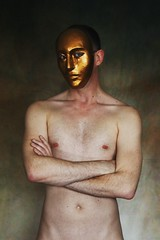 (Un)hide # 2 (just.Luc) Tags: barechested shirtless torsenu tepels nipples bellybutton navel nombril mask masker masque maske nu nude nudo desnudo naakt nackt naked man male homme hombre uomo mann erotic homoerotic