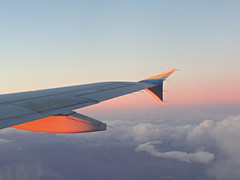AS1909 LAS-SFO 18FEB2019 (kenjet) Tags: alaska alaskaairlines wing wingtip winglet inflight sunset evening sun cloud clouds plane jet flugzeug airline airliner airbus 320 a320 a320214 n640va nevada
